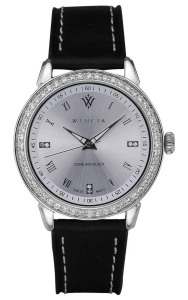 Wencia, Swiss made classically styled sterling silver watches