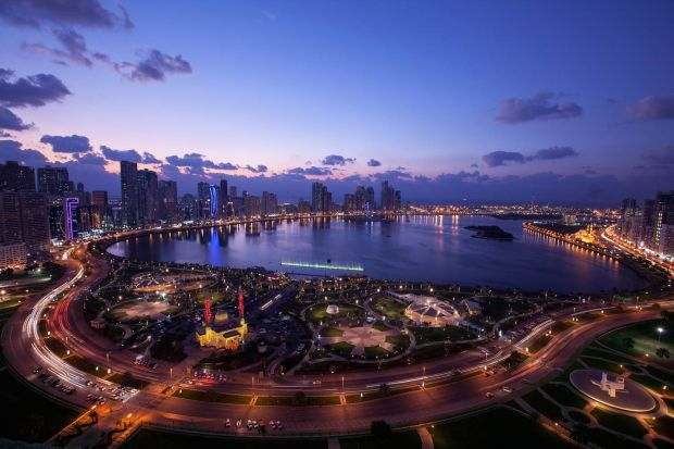 Jamie Ndah Discovers The Luxury Of Sharjah