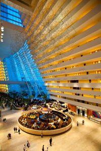 The Marina Bay Sands Hotel Lobby and Drift