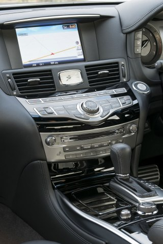 There is also plenty of in-car technology to hand