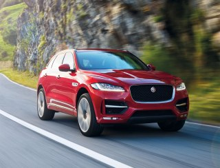 For me, the beauty of the Jaguar F-Pace is that it doesn't represent a compromise