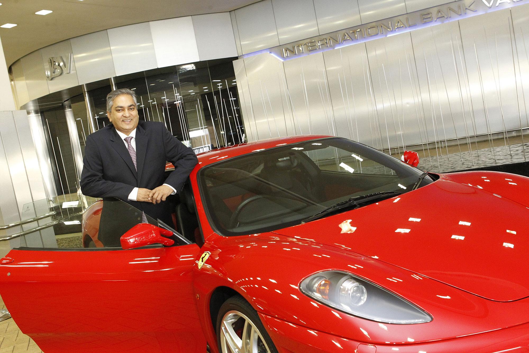 Ashok Sewnarain, CEO Of IBV International Vaults 8
