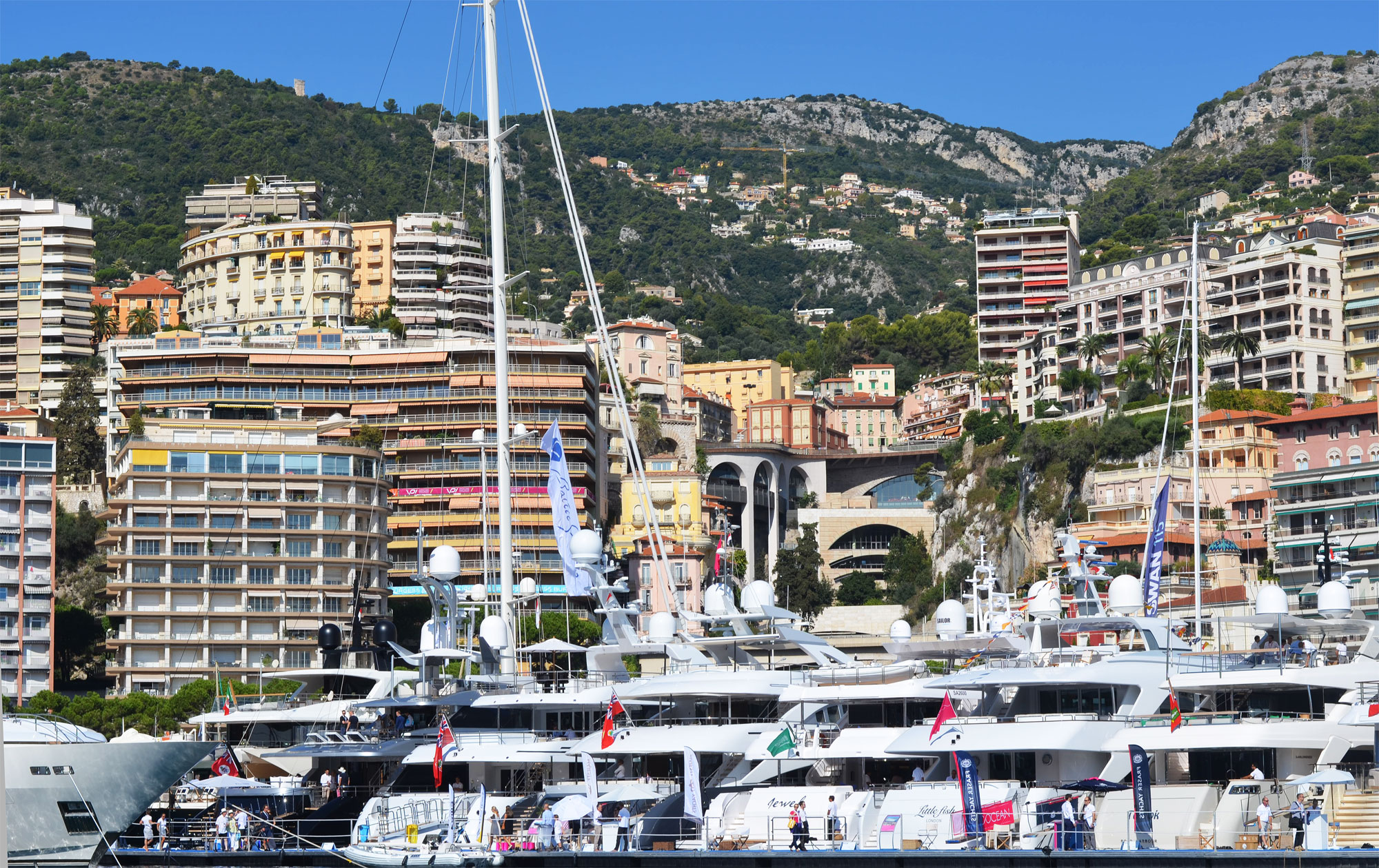Some of the incredible yachts on display at the 2015 Monaco Yacht Show