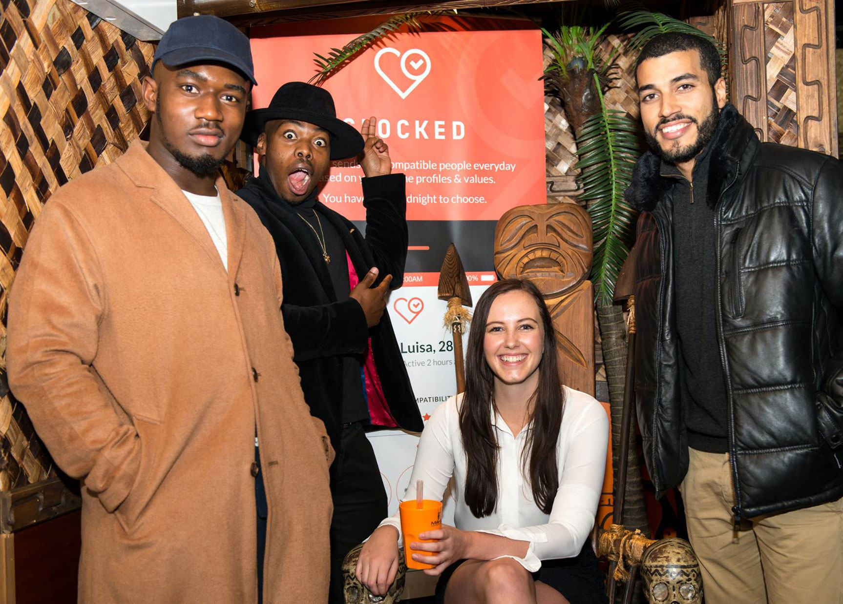 About Time: Award Nominated Clocked Celebrates in Style At Mayfair's Mahiki 11