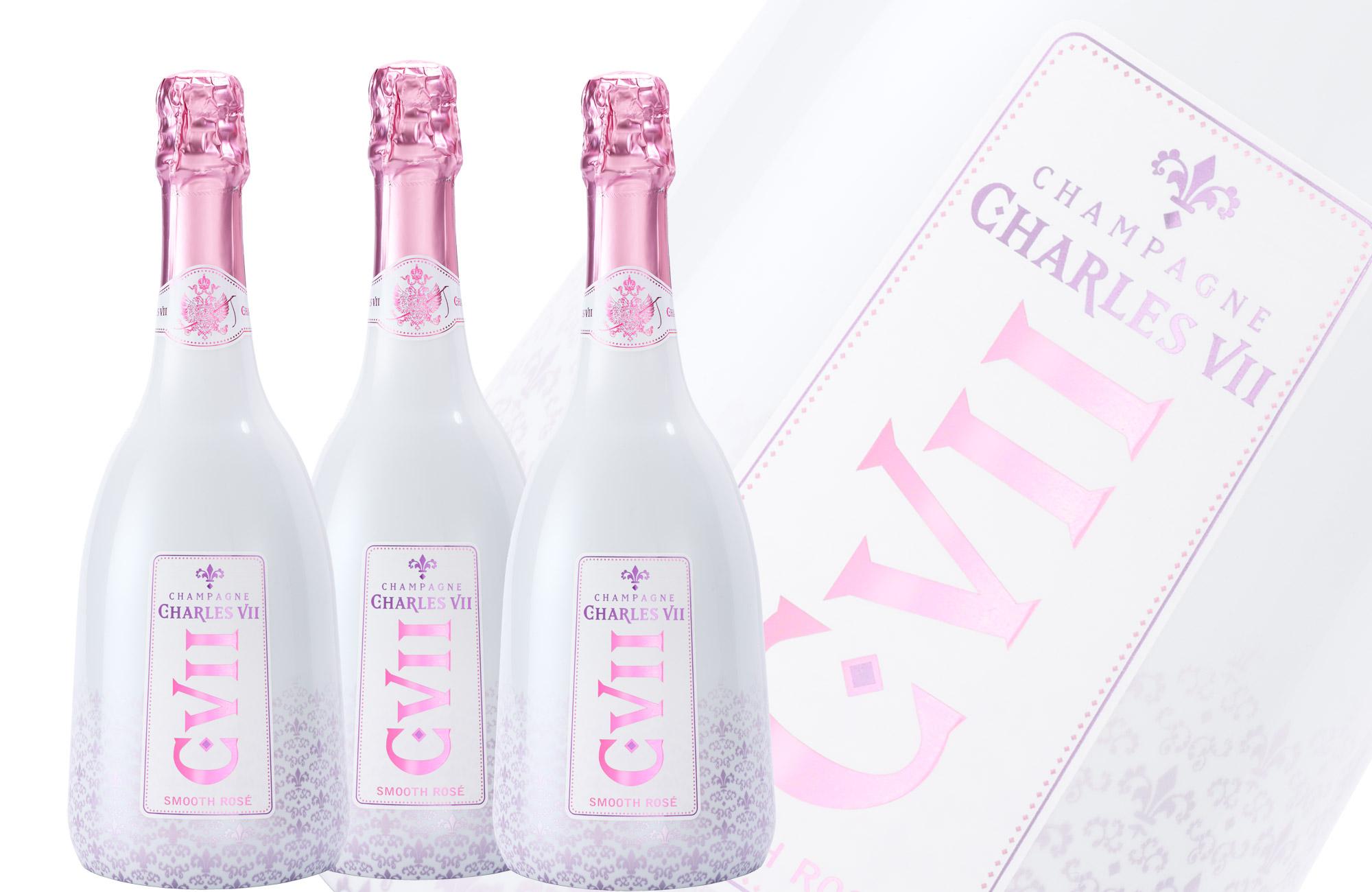 Canard-Duchene Charles VII Grande Cuvee Smooth Rose, Champagne