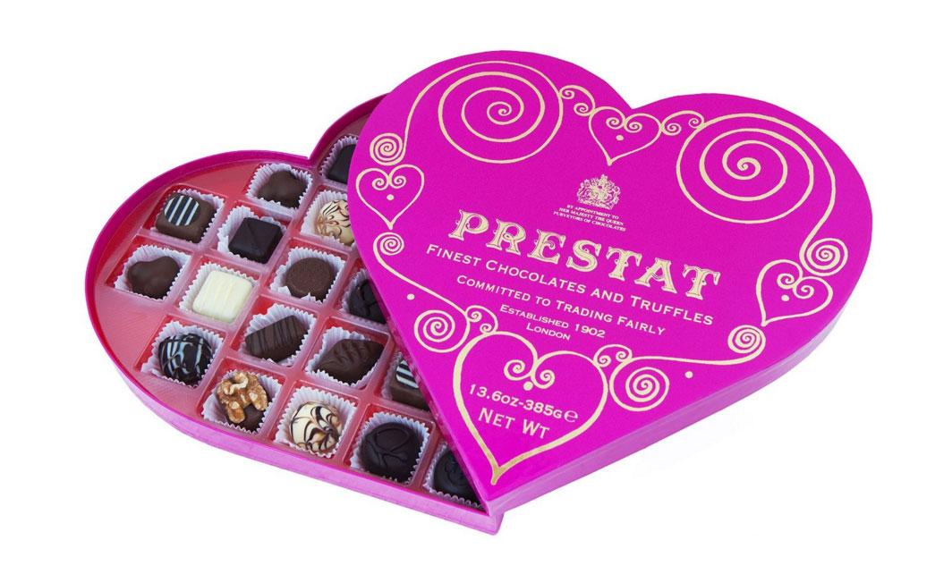 Prestat Heart Assortment 385g