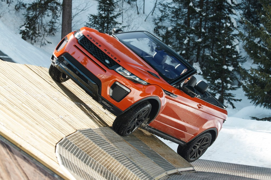 Road Testing The New Range Rover Evoque Convertible 8