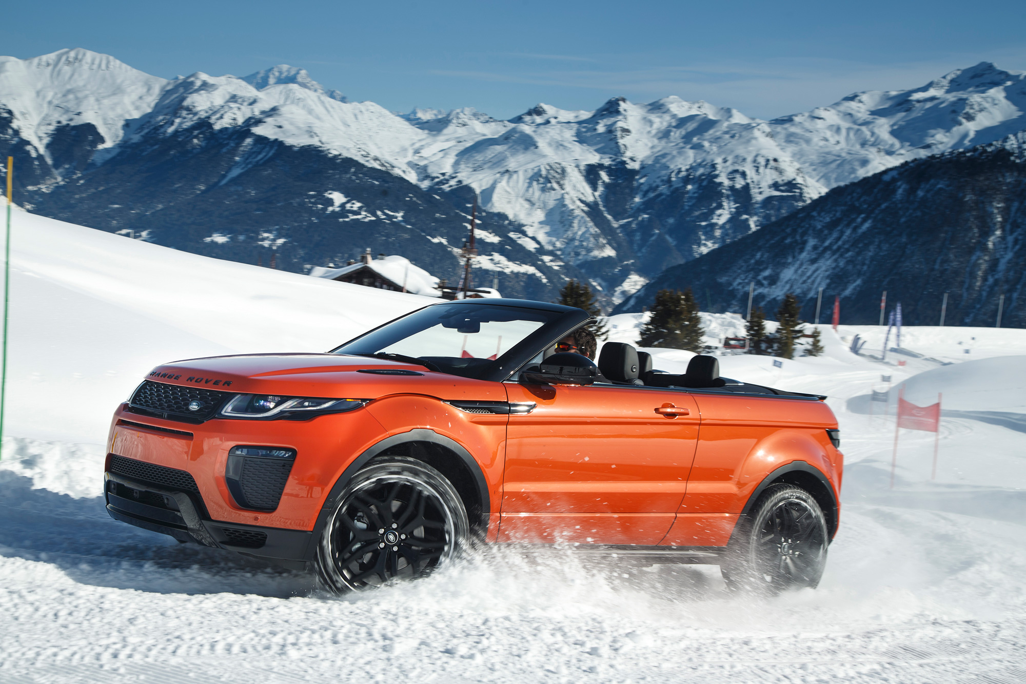 Road Testing The New Range Rover Evoque Convertible