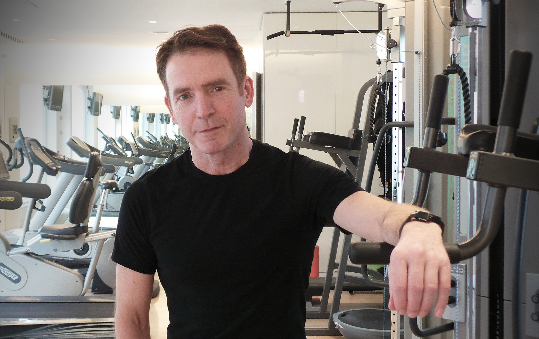 An exclusive interview with celebrity trainer Michael Garry