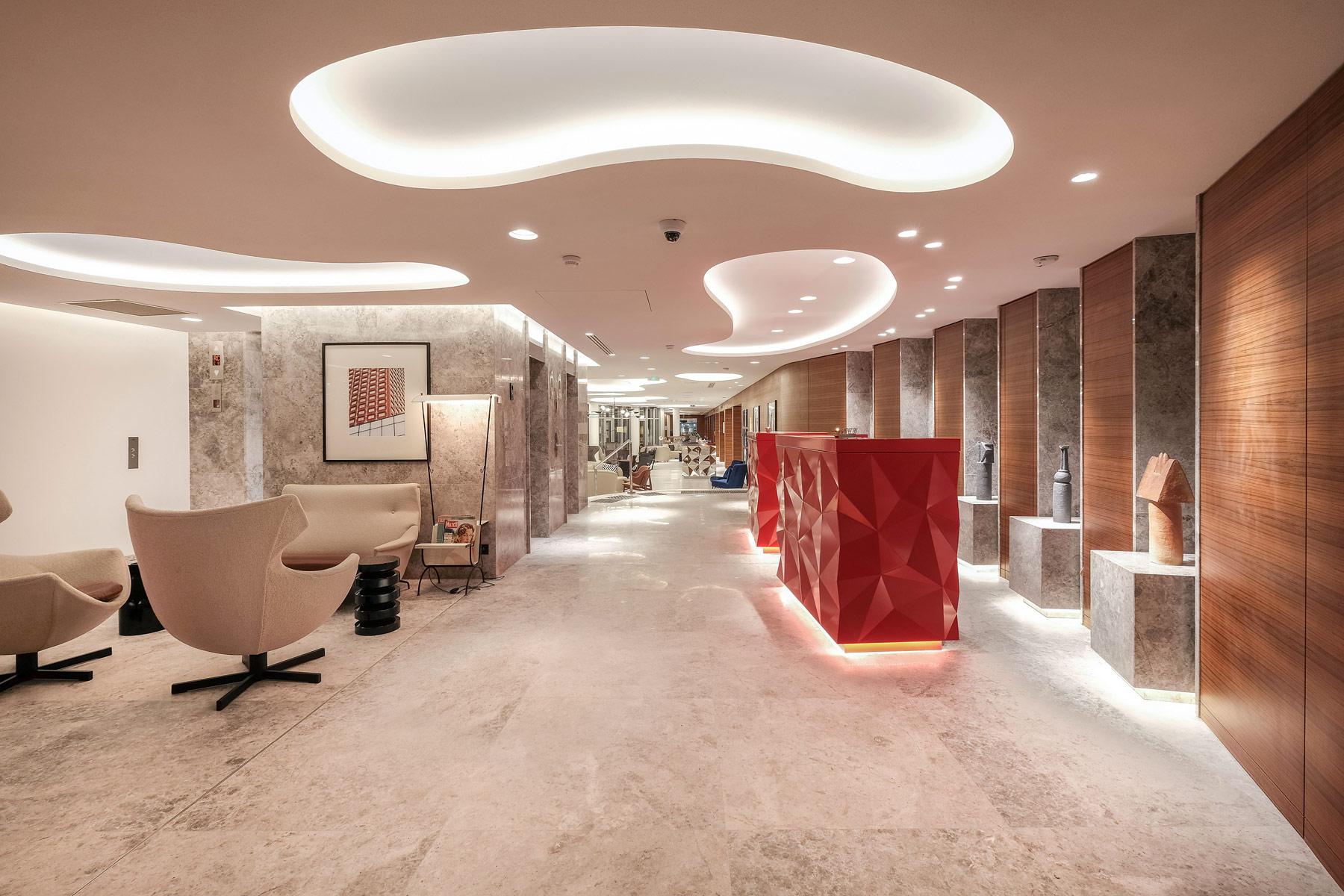 The Renaissance Paris Republique Hotel Lobby