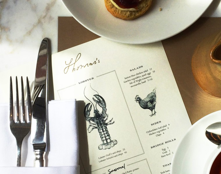 Experiencing Thomas's Café In Regent Street's Flagship Burberry Store