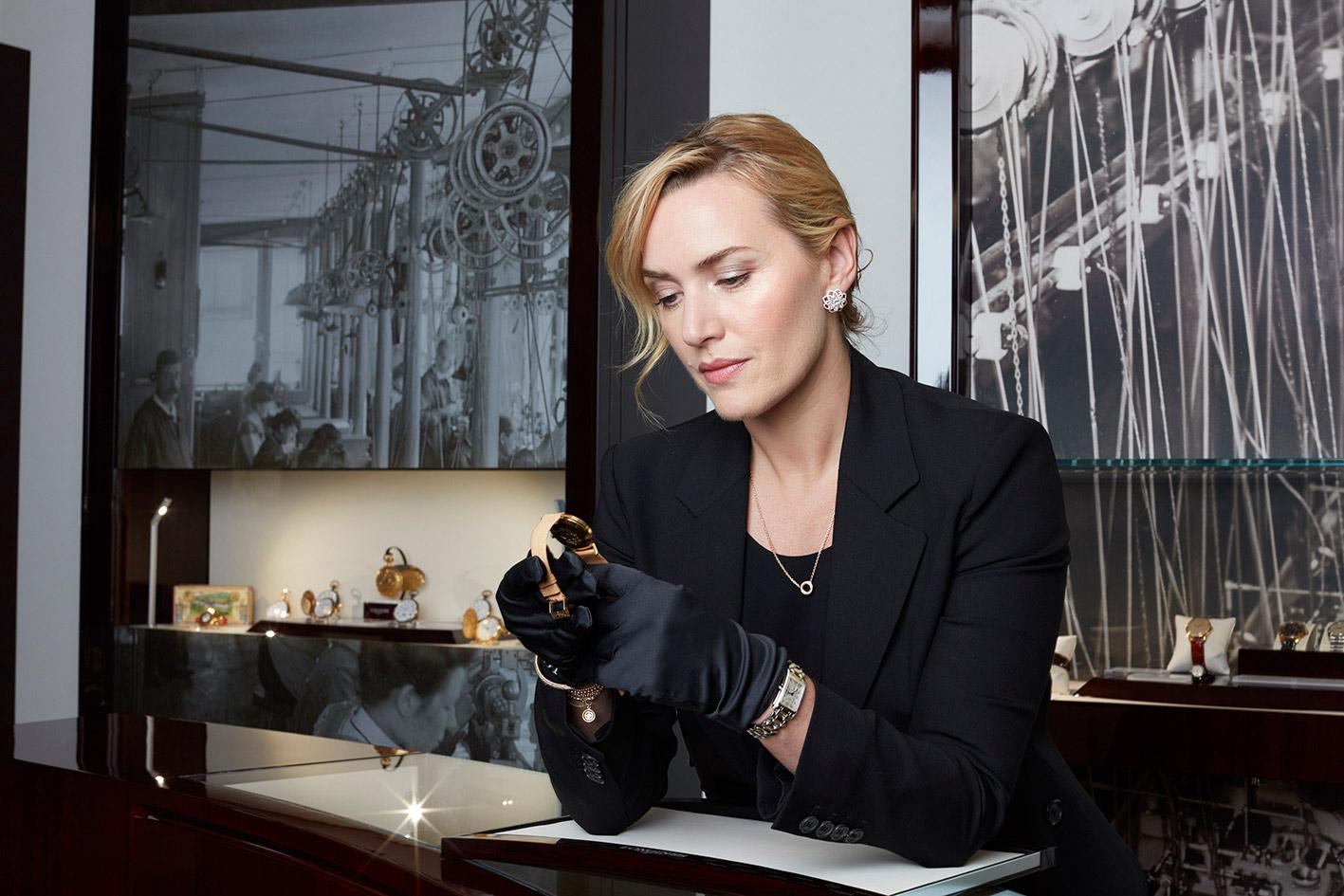 Switzerland Welcomes The Longines Ambassador Of Elegance Kate Winslett