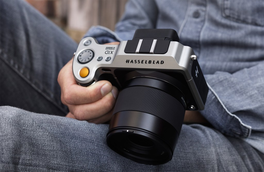 Hasselblad X1D The World's First Compact Mirrorless Digital Medium Format Camera