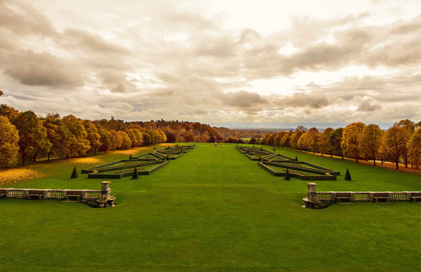 The spectacular grounds at Cliveden House