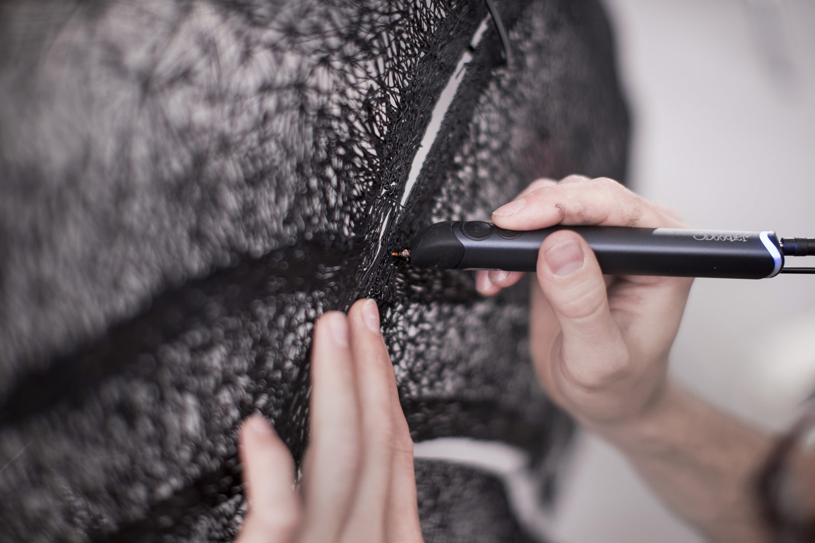 Nissan Draws Full-Sized Qashqai Black Edition Using 3Doodler 3D Pen 6
