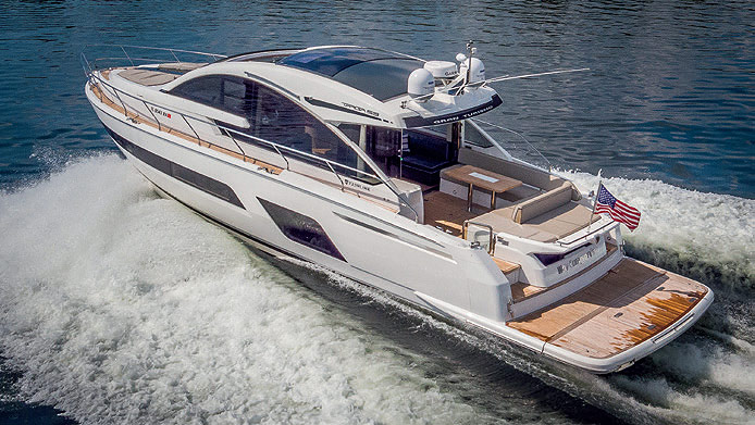 Opulence Afloat In A Fairline 1