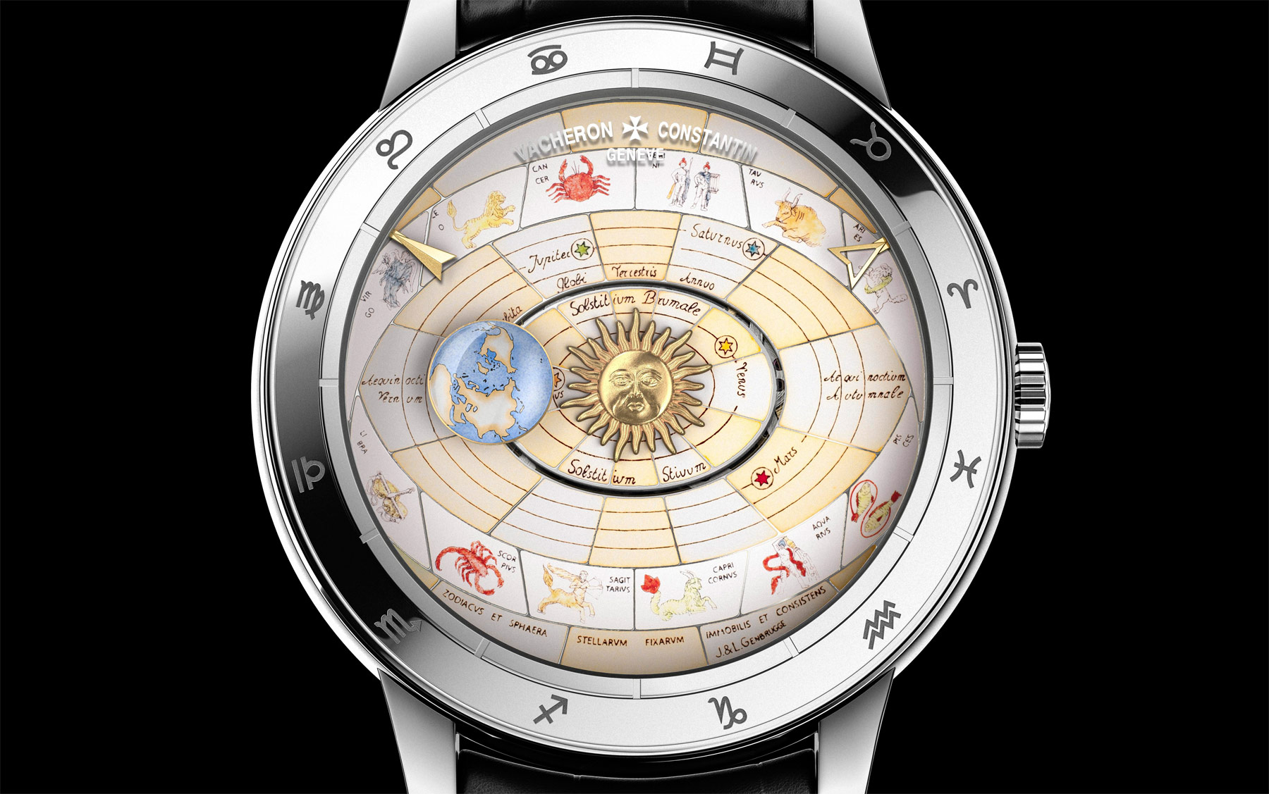 For SIHH 2017: The Métiers d'Art Copernicus Celestial Spheres 2460 RT 3