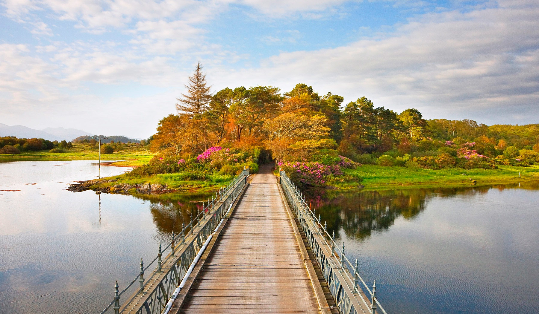 Throughout February, Isle of Eriska Hotel, Spa and Island celebrates the epitome of romance