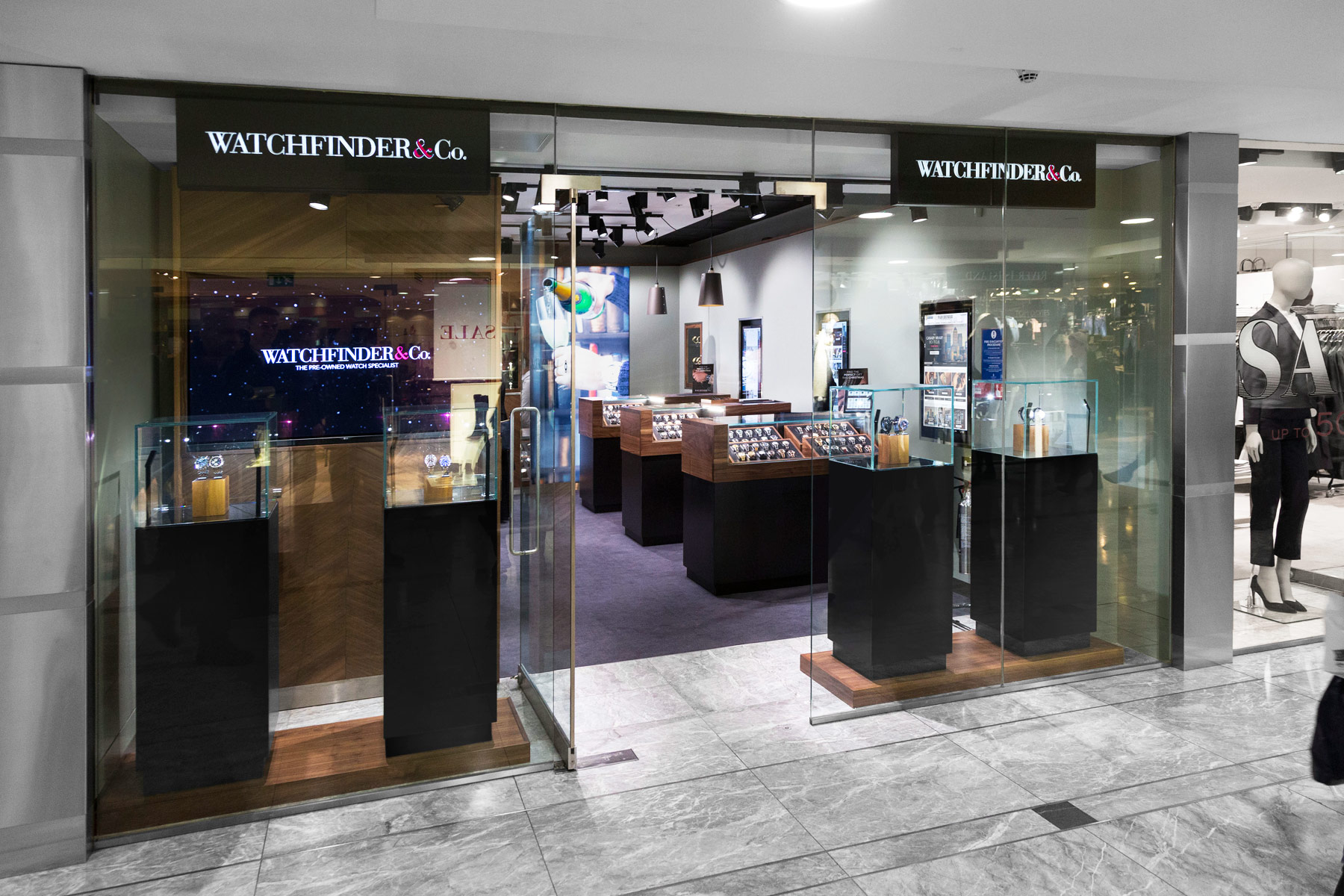 Watchfinder Opens Store In Canary Wharf With Support From HSBC