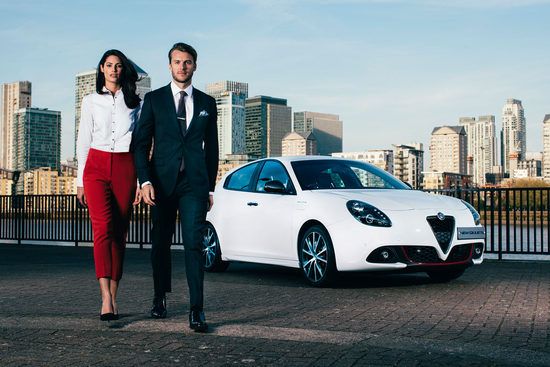 Alfa Romeo Turns on the Style with British tailor Hawes & Curtis 7
