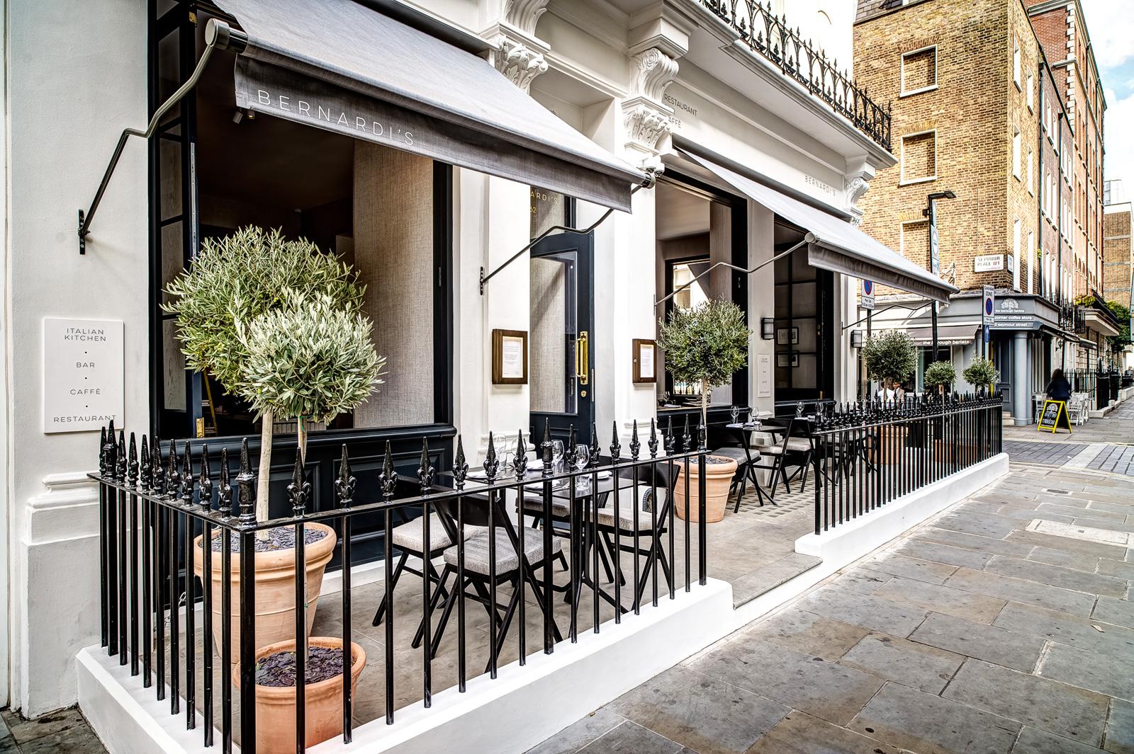 Rustic Italian Re Imagined At Bernardis Restaurant London