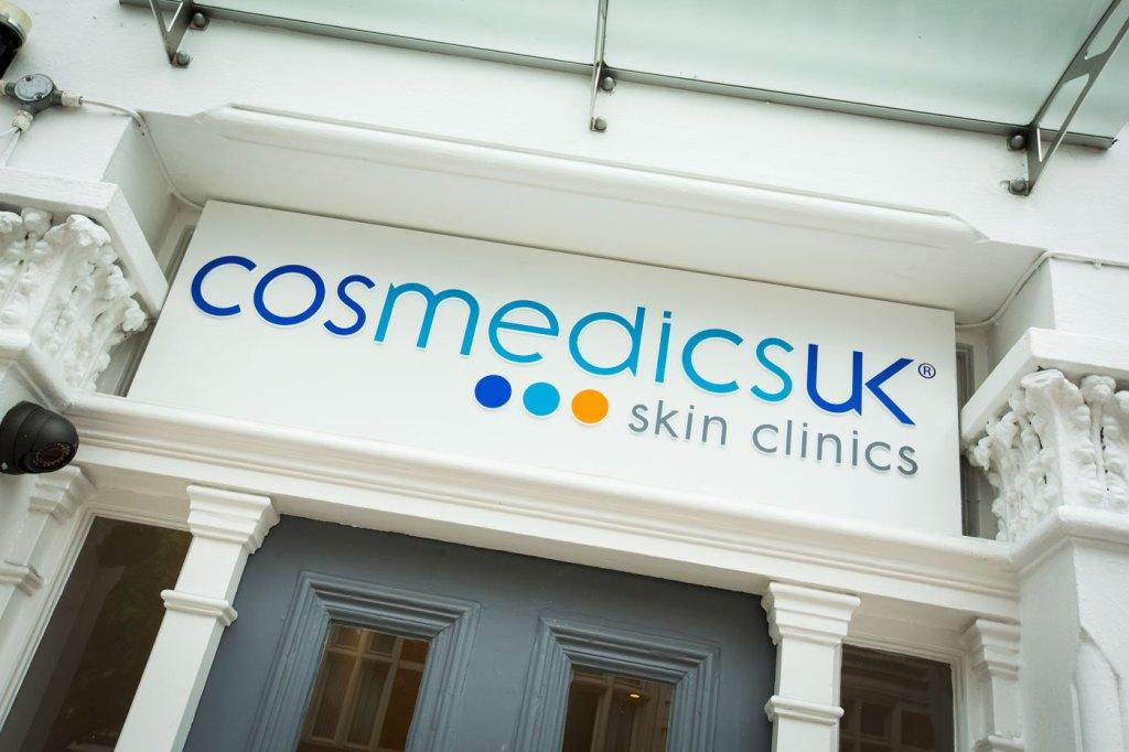 Exterior of Cosmedics Skin Clinic