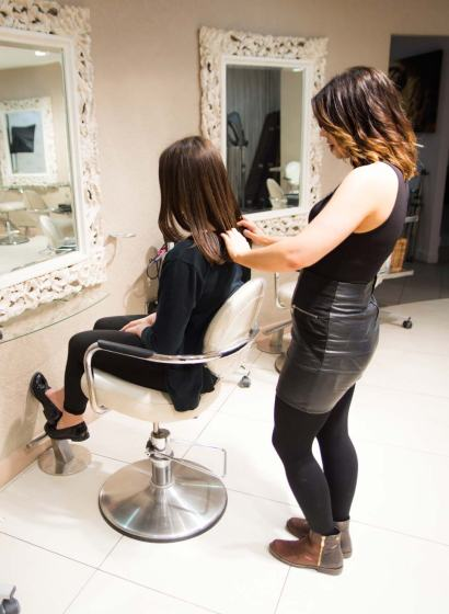 Beauty & Melody in Marble Arch Hair Extensions