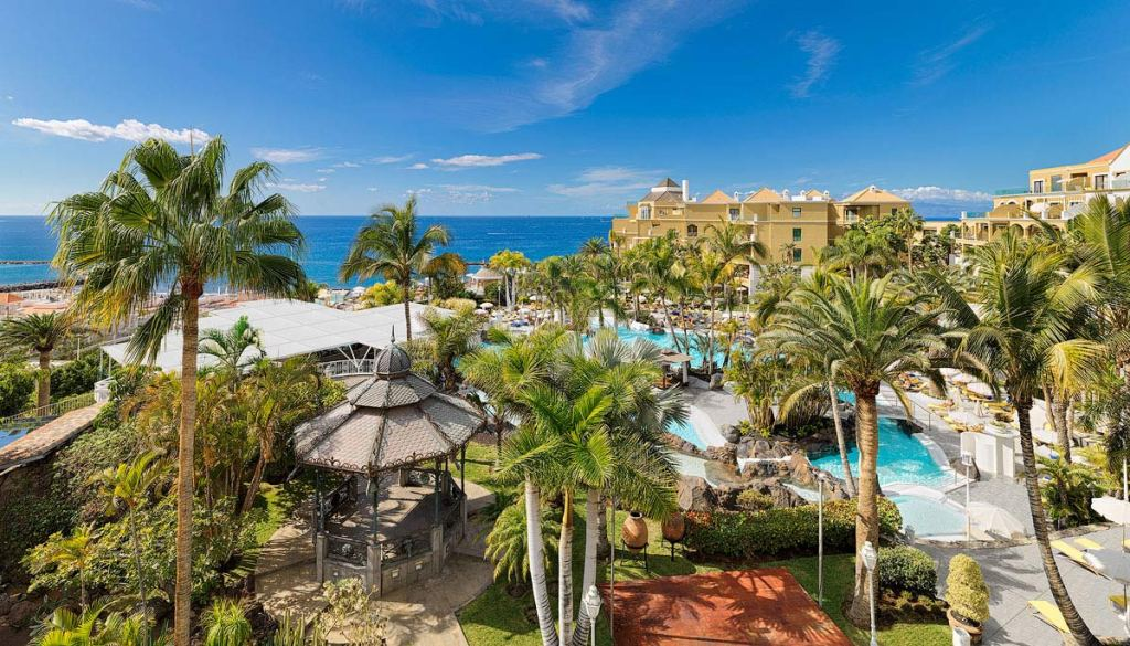 Ocean Views From The Jardines De Nivaria Hotel In Tenerife 5
