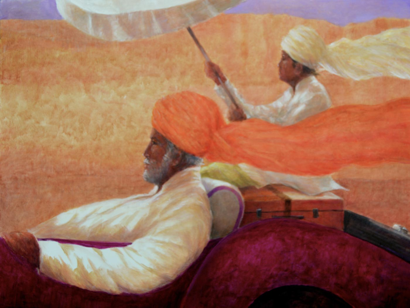 Lincoln Seligman Brings His Passion For India To Osborne Studio Gallery In Belgravia 8