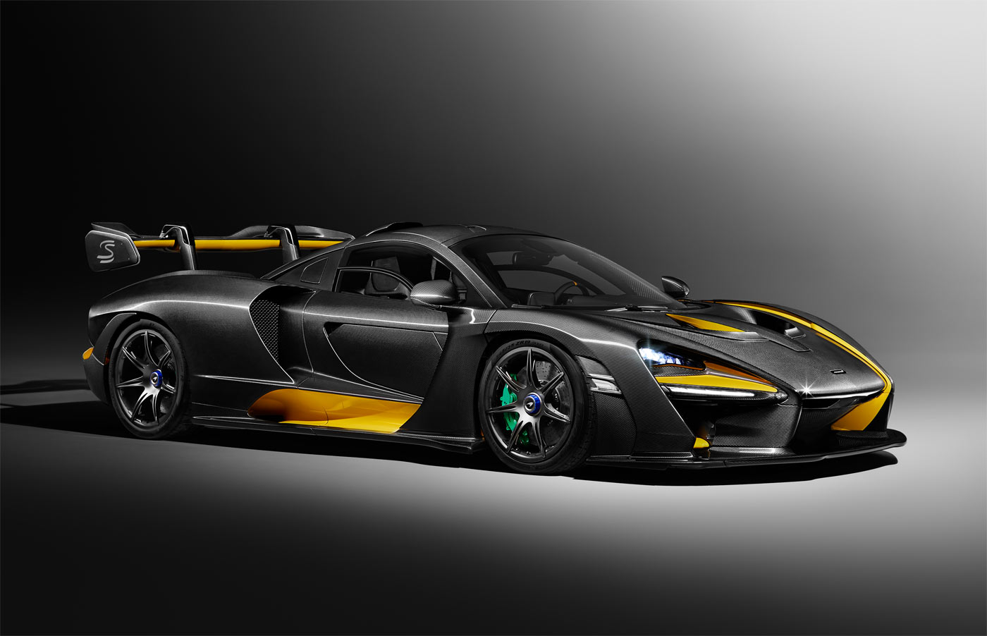 The MSO designed carbon theme Senna will be on show at the Geneva motor show