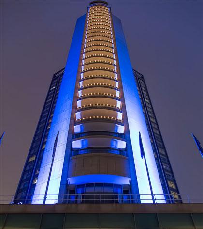 Exterior of the London Hilton on Park Lane