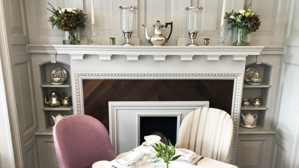 Luxury Dining In Laura Ashley The Tea Room At Burnham Beeches Hotel 9