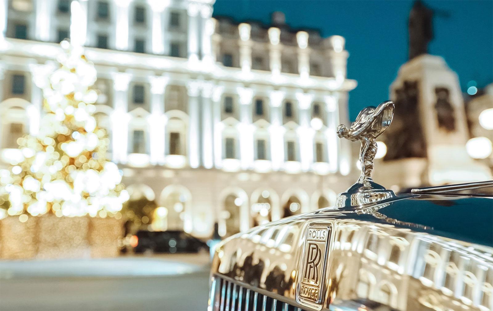 The Luxury A to Z of London in a Rolls Royce Phantom 7
