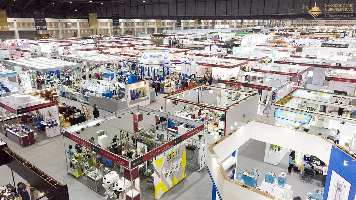 More Than 14,000 Visitors Experienced The 63rd Bangkok Gems & Jewelry Fair 6