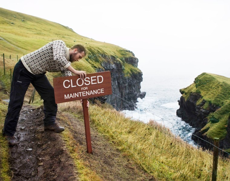 Do Your Bit in 2020 While the Faroe Islands is Closed for Maintenance