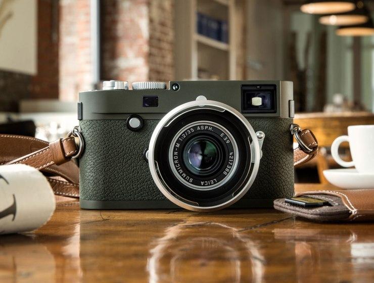 Leica Camera Launch Limited-edition, Olive Green 'Safari' Camera 15