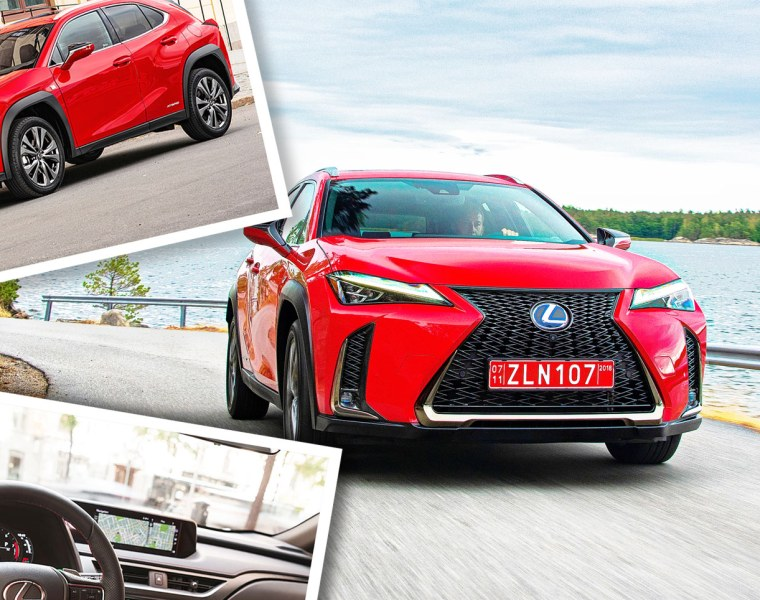 First Drive In Barcelona: The New Lexus UX Compact SUV 8