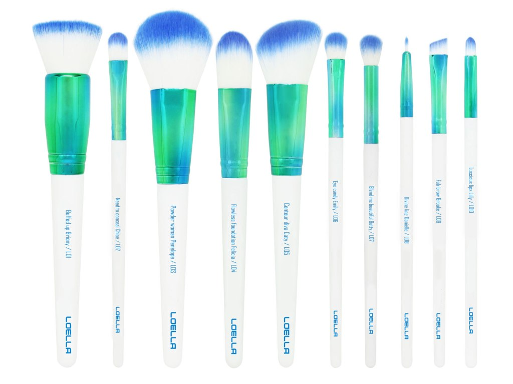 Loella Cosmetics Makeup Brushes