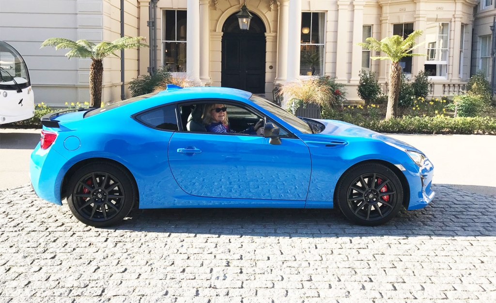 Gina Baksa escapes London and heads for England's south coast in the Toyota GT86 sports coupe.