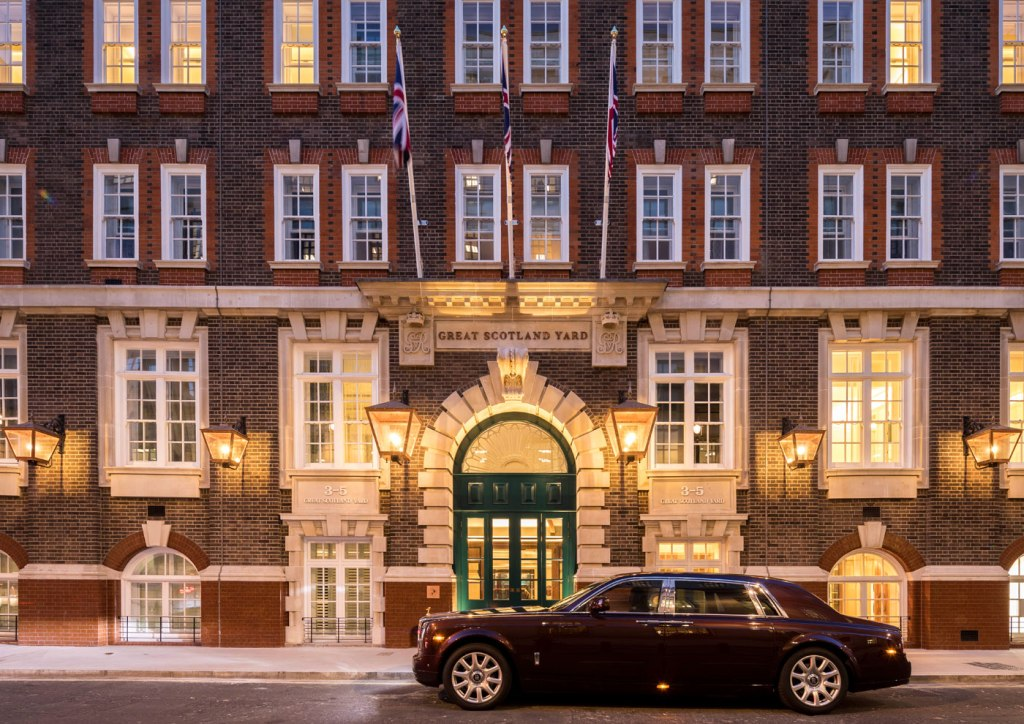 Galliard Completes Construction of £110m Great Scotland Yard Hotel