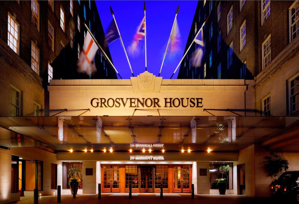 90th anniversary of Grosvenor House Hotel in London