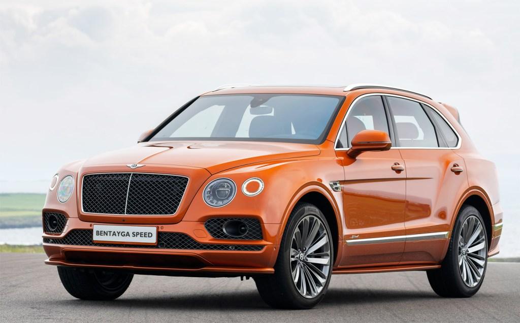 The Bentley Bentayga Speed - Stylish and commanding.