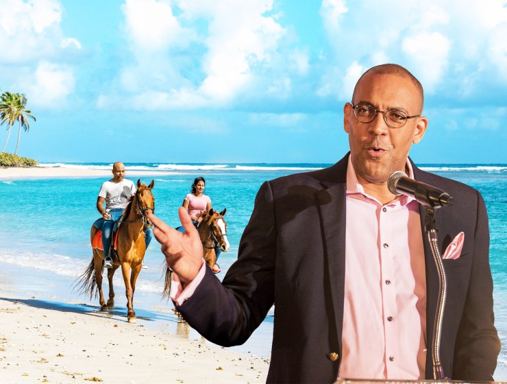 Kerrie Symmonds Minister of Tourism and International Transport