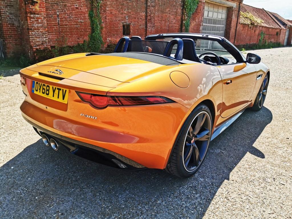 Jaguar's open-top two-seater.