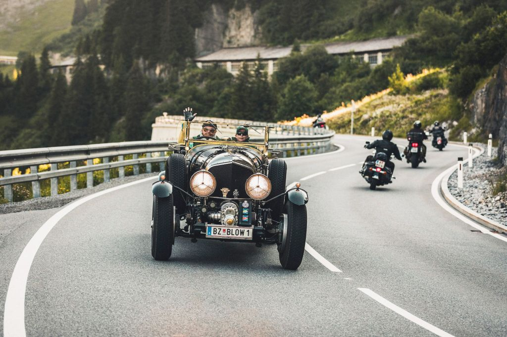 Arlberg Classic Car Rally photograph by Christoph Schoech