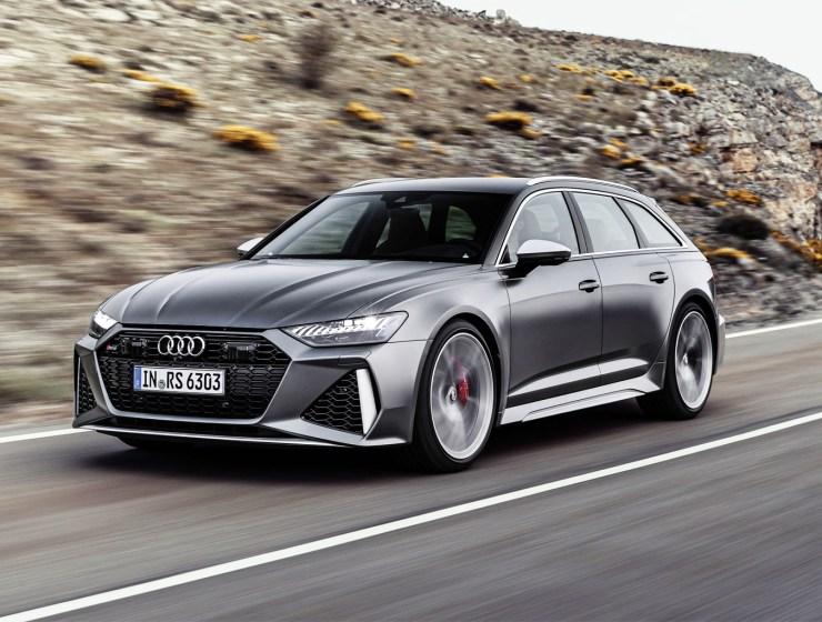 Audi RS 6 Avant 'Mild Hybrid'