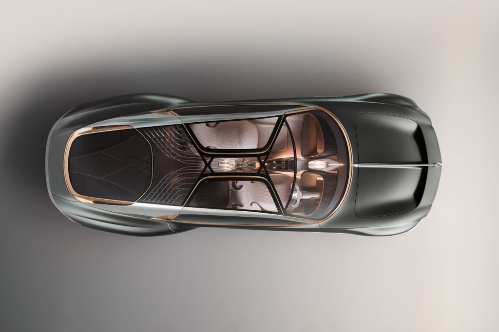 Cumbria Crystal Shines In Bentley's Centenary Concept Car 6