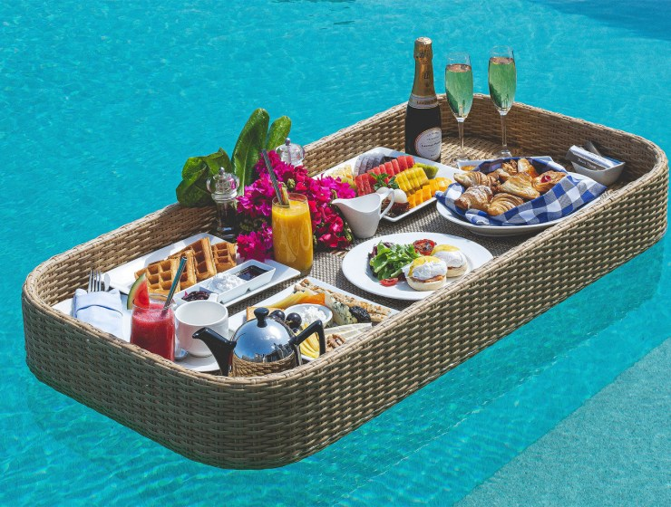 The New Floating Breakfast Concept at the Dusit Thani Maldives 16
