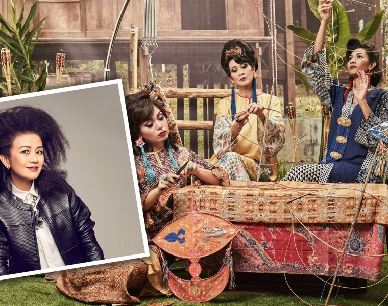 Luxurious Magazine Interview with Malaysian Fashion Designer Melinda Looi