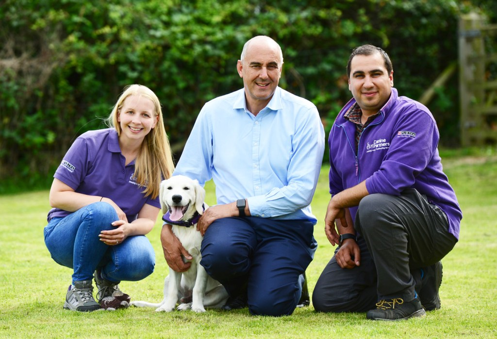 David Wilson Homes Announces £50k Partnership with Dog Charity Canine Partners